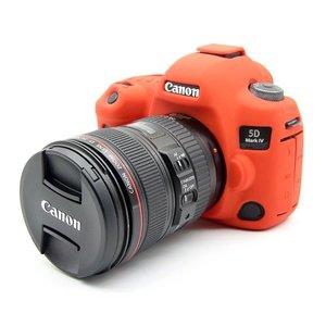 Image 3 - 캐논 EOS 5D4 5D 마크 iv에 대 한 좋은 부드러운 실리콘 고무 카메라 가방 캐논 5D 4 렌즈 펜에 대 한 보호 카메라 바디 커버 케이스 피부