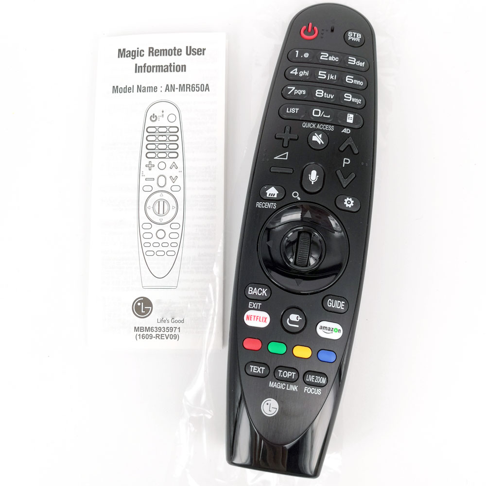 New Original AN-MR650A For LG TV UJ639V 65UJ620Y Magic Remote With Voice Mate Select 2017 Smart TVs UJ63 Series Fernbedienung