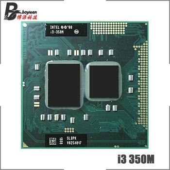 Intel Core i3-350M i3 350M SLBU5 SLBPK 2,2 GHz Dual-Core Quad-Hilo de procesador de CPU 3M 35W hembra G1/rPGA988A