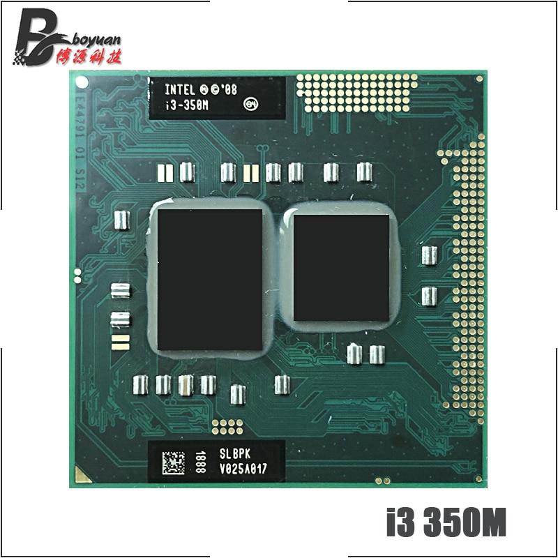 Intel Core i3 350M i3 350M SLBU5 SLBPK 2.2 GHz Dual Core Quad Thread CPU Processor 3M 35W Socket G1 / rPGA988A|CPUs| |  - title=