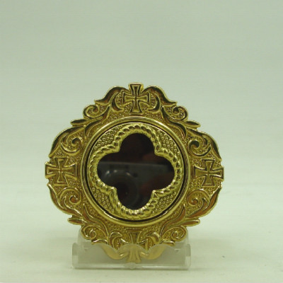 Ostensorium Copper Holy Box Monstrance Catholic Supplies Church Holy Things Small Exquisite Easy To Carry Keepsake Gift