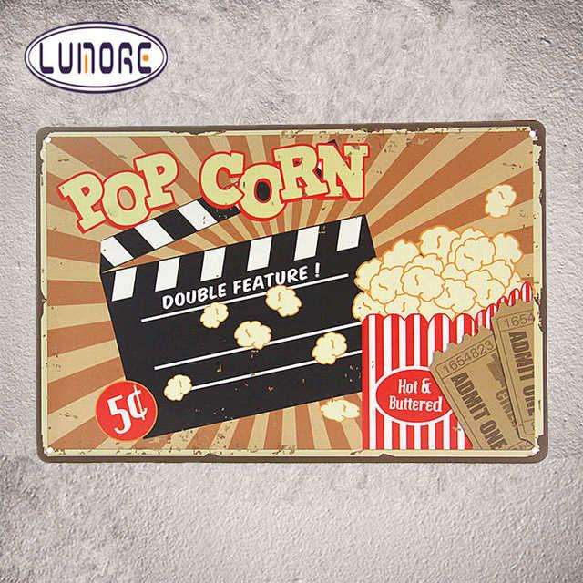 Online Shop Tin Sign Bar Pub Home Movie Theatre Cinema Wall Decor ...