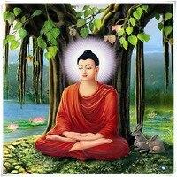 Budist rakam elmas nakış elmas boyama tanrı'nın dini Tanrı des Buda reçine kare elmas çapraz dikiş boyama