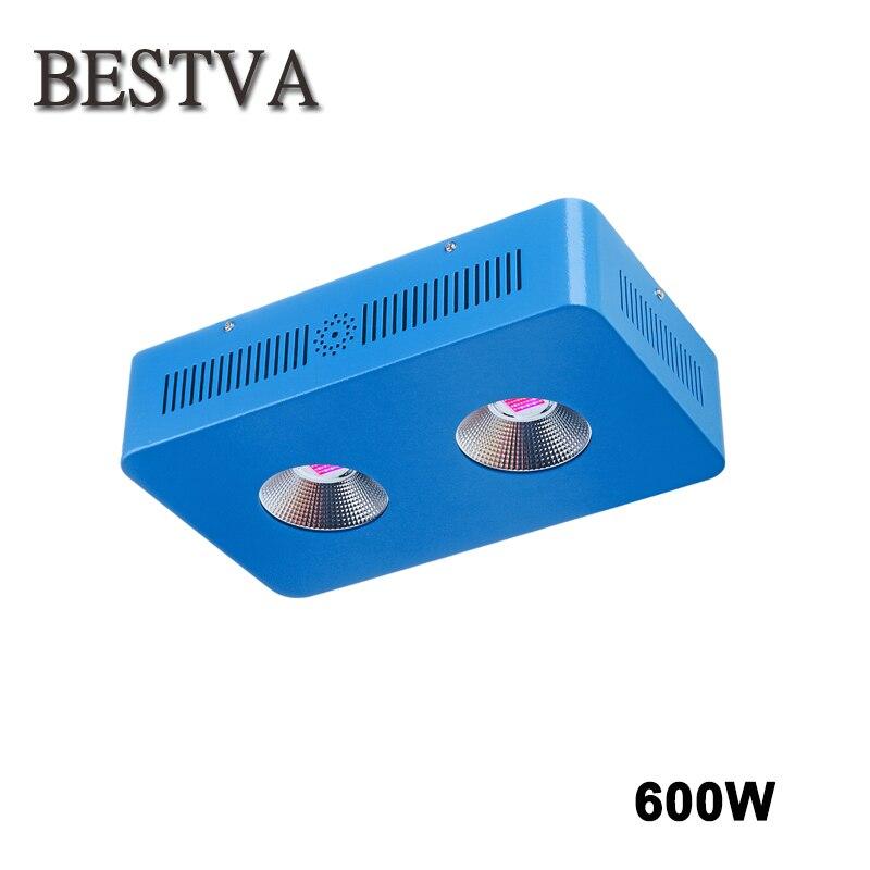 BESTVA Dominator 600 светодио дный Вт удара растет свет лампы для мотоциклов красный/синий/белый/UV/IR гидропоники и крытый спецодежда медицинская цве...
