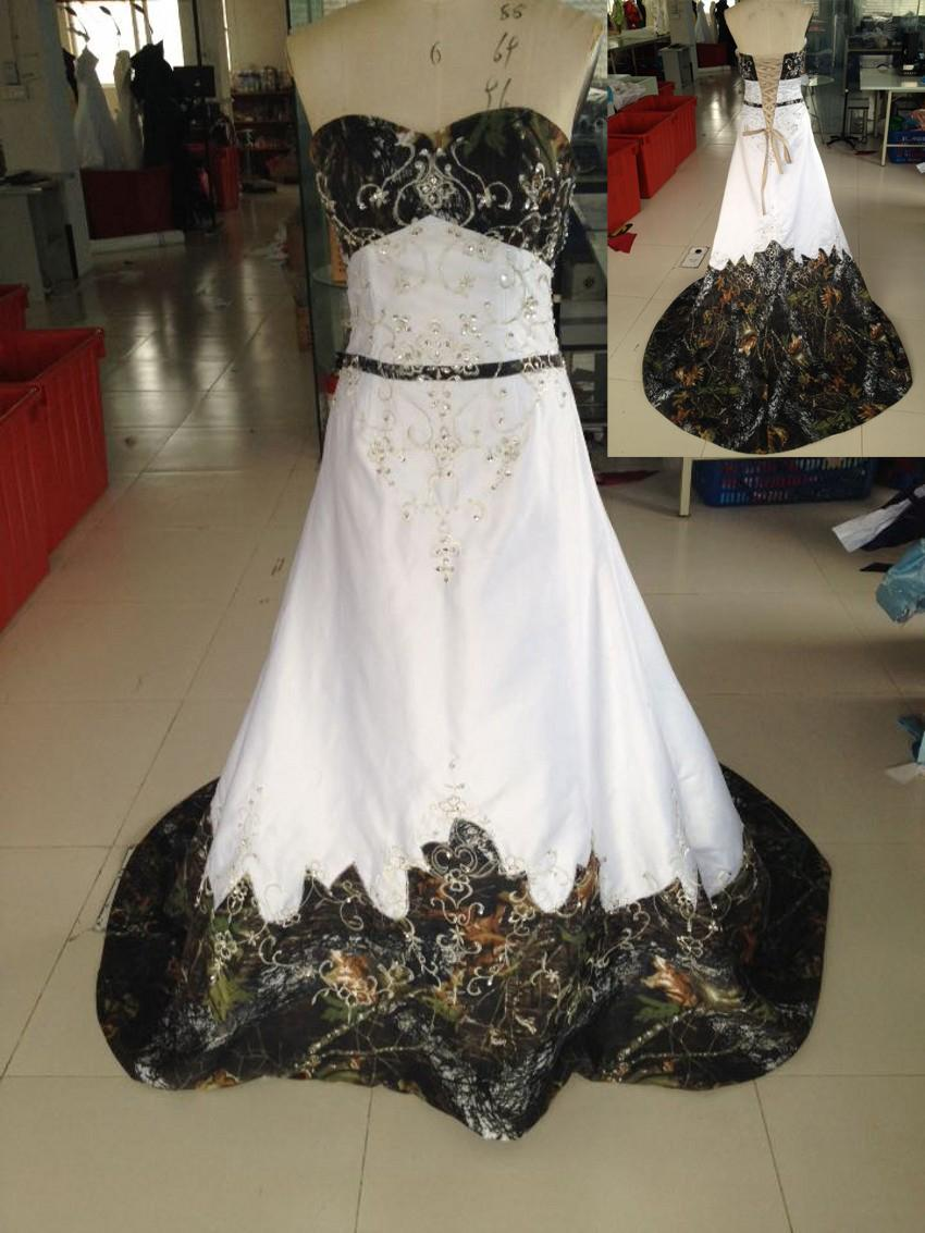 camo obsessed bridal wedding dresses camouflage wedding dresses Camo Obsessed Bridal Wedding Dresses Gown