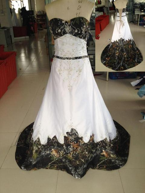 e737e13ee7f11 2017 new style mossy oak camo wedding dresses camouflage gowns custom make  plus sizes free shipping