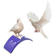 20 шт. голубь окунь Высокое качество пластик теплостойкость голубь отдых Roost нашест для птиц держатель поставки