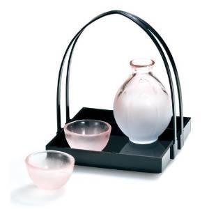 Guci casar Japão Hirota apito artesanal cereja jarro de vinho dom conjunto sake Saquê