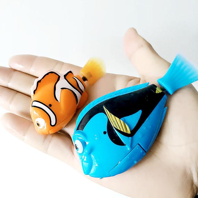 Battery Powered Robo Fish 2 pcs Set