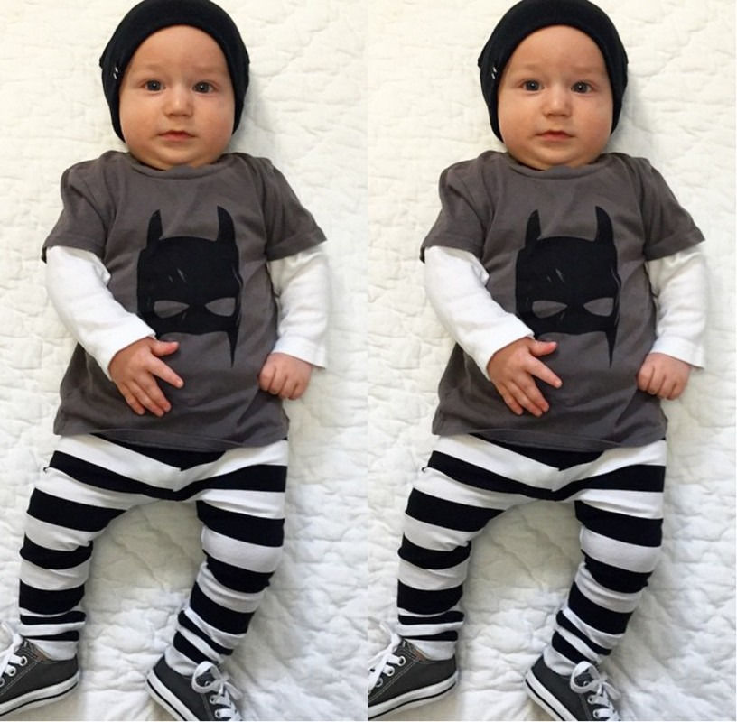 Aliexpress Com Buy 2016 New Lovely Newborn Baby Boys 2 Pc Outfits