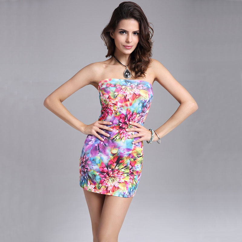 Compare Prices on Cheap Strapless Summer Dresses- Online Shopping ...