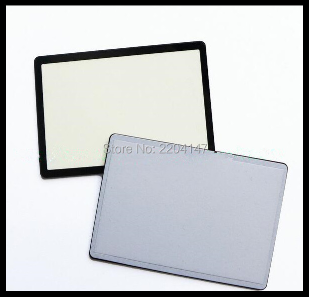 New Digital Camera Top Outer LCD Display Window Glass Cover (Acrylic)+TAPE For Canon EOS 60D Small Screen Protector