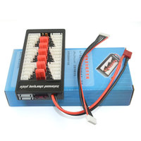2 6s Lipo Batteries Charger Plate For Imax B6 B6AC T Plug Deans Charge Board Optional