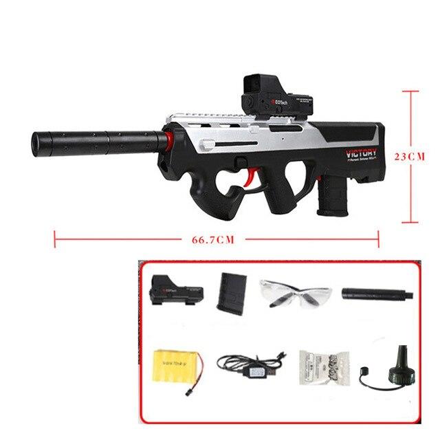 P90 jouet électrique PISTOLET balle en eau Éclate Pistolet Graffiti Édition CS Live D'assaut Snipe Arme En Plein Air Pistolet Jouets lepin - 6