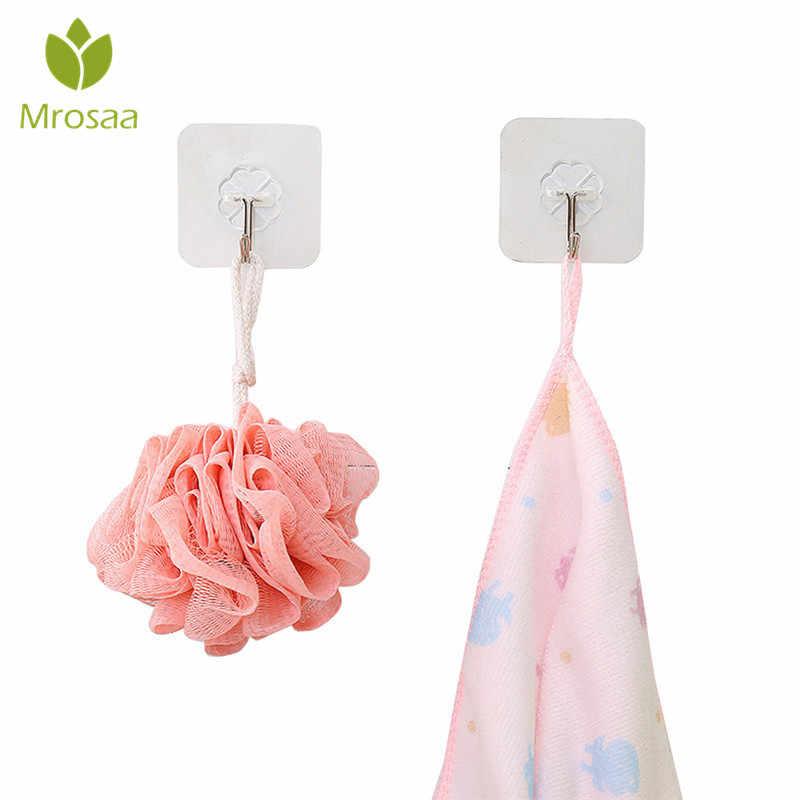 Suction Hooks Suction Cup Wall Hook Towel Hook Hook Towel Holder Transparent 6x