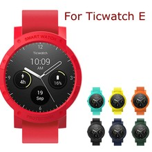 Watch Case For Ticwatch E Anti-knock Scratchproof Hard Shell Protector For TicWatch Smart Sport Watch Accessories Movement Cases(China)