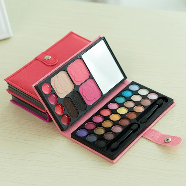 33 Colours Eyeshadow Lipstick Eyebrow Makeup