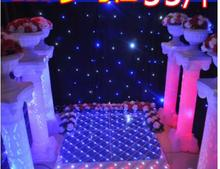 2pcs wedding products LED by lighting to the new Roman column in