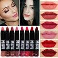 2016 miss rose marca de maquillaje mate sexy lip kit mujeres mate nude lápiz labial lápiz labial de larga duración a prueba de agua de terciopelo rojo