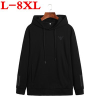 8xl 10xl plus size Autumn New Arrival High Printed Sportswear Men Sweatshirt Hip Hop Male Hooded Hoodies Pullover Hoody clothing