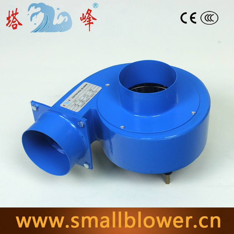 ФОТО low niose 250w DC 24V high CFM strong centrifugal snail 100mm round blast inlet air gas exhaust blower fan