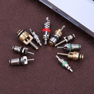 Image 5 - VODOOL 100 шт. R134A автомобильный Кондиционер, A/C сердечник, клапаны в ассортименте, автомобильный Кондиционер, набор для удаления воздуха в ассортименте