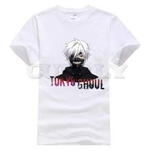 2019 new T-shirt Short sleeve  Tokyo Ghoul Cool Japan Anime Cartoon Summer dress men tee Cotton Funny t shirt custom made
