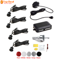 Waterproof 4 Sensors Buzzer Car Parking Assistance Set Audible Alarm Vehicle Reverse Backup Sensors