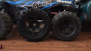 Image 2 - Wheels Waterproof wear resistant Tire RC Monster truck for TRAXXAS X MAXX X MAXX