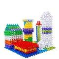 150 unids Venta Caliente Niño Bebé Juguetes Educativos Multicolor Snowflake Creativas Bloques de Construcción Para Niños Juguete de Bricolaje Assemblage