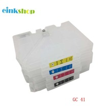 Refillable Ink Cartridge For Ricoh GC41 for SG3100 SG2100 SG2010L SG3110dnw X4