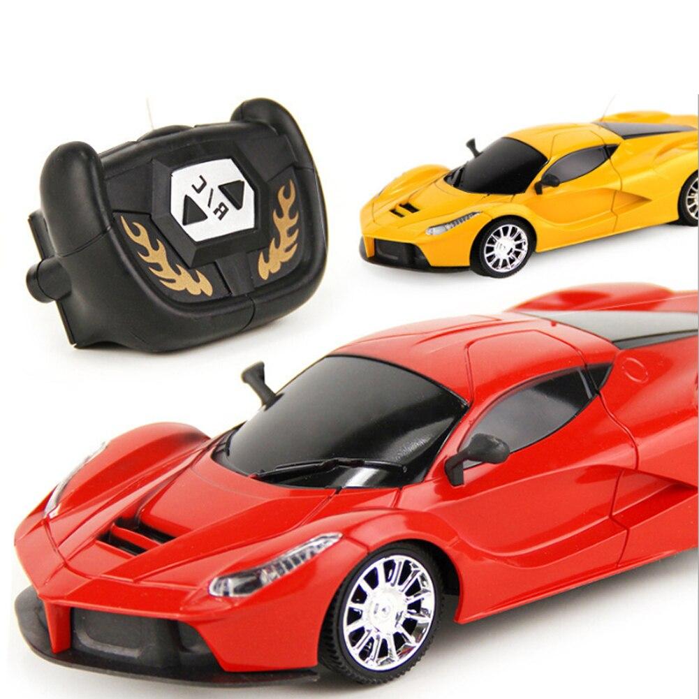 124 scale 2ch rc car model kids children simulation remote control car toy gift