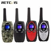 2 PCS Scan RETEVIS RT628 Black Walkie Talkie 0 5W UHF Europe Frequency 446MHz LCD Display