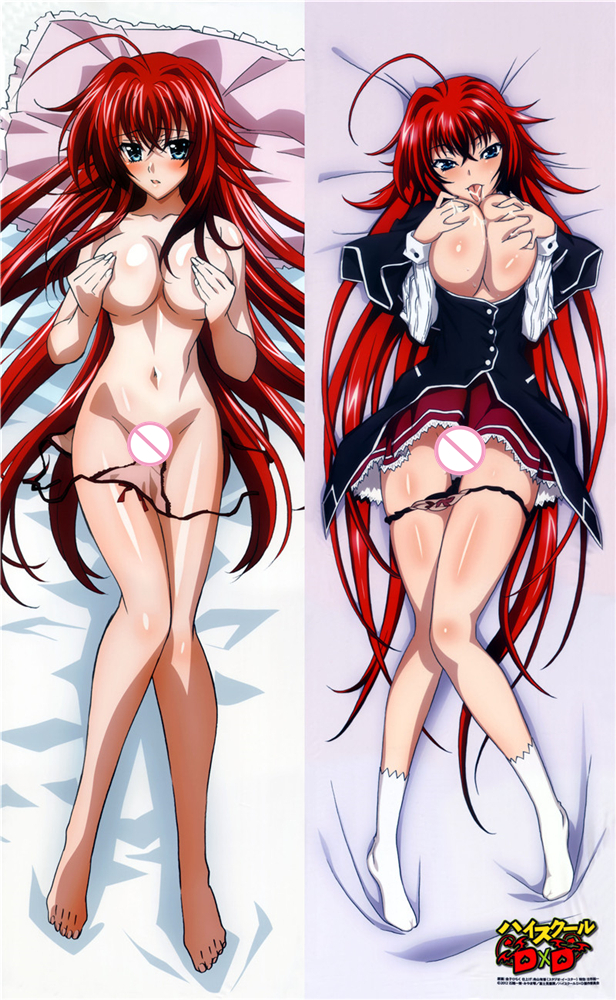 High School DxD Anime Pillows Rias Gremory Sexy Female Double Printed Hugging Body Body Pillow Case Bed