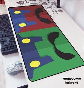 Image 5 - Mario alfombrillas de ratón locrkand para ratón, alfombrilla para ratón de ordenador portátil, 70x30cm, para gaming, para teclado, portátil