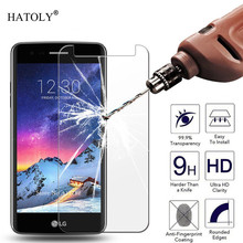 2PCS Screen Protector Glass For LG X Power 2 Tempered M320 Anti-scratch Phone Film HATOLY