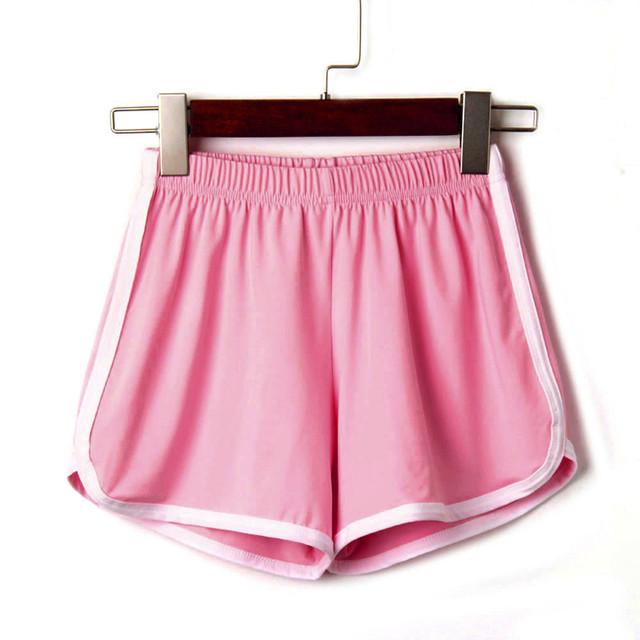 Women Summer Sport Biker Shorts Casual hot daily basic easy Short Holiday running Solid Brief Short
