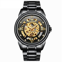 New Watches Hollow waterproof ultra thin mechanical watch Watches Lover Watches Relogio Masculino
