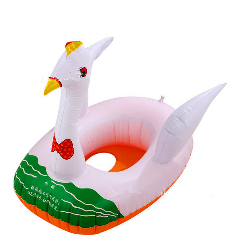 iEndyCn Thickening Inflatable Children Swimming Race Cartoon Swimming Laps Infant Swimming Alar Circle Swimming Boat LMY602RRLL