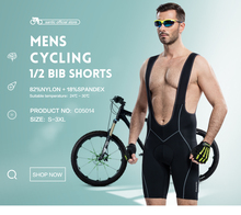 2015 Winter Full Pants Santic Men Cycling Tights 3D Pad Thermal pantalon ciclismo invierno M-3XL C04007