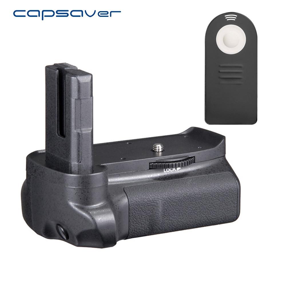 Capsaver вертикальный Батарейная ручка для <font><b>Nikon</b></font> D3100 <font><b>D3200</b></font> D3300 камеры профессиональной фотографии Интимные аксессуары Батарея рукоятки держатель