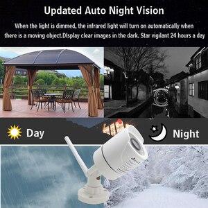Image 5 - JIENUO 1080P kamera wifi cctv ip bezprzewodowy bezpieczeństwa na zewnątrz wodoodporny 2.0mp HD nadzoru Audio IPCam podczerwieni gniazdo karty tf