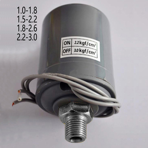 """220V G1/4"""" male threaded water pump pressure switch controller mechanical action 1.0-1.8/1.5-2.2/1.8-2.6/2.2-3.0kgf/cm2"""