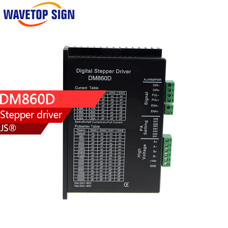 two phase stepper motor driver DM860D use for engraving Machine and Cutter Machine