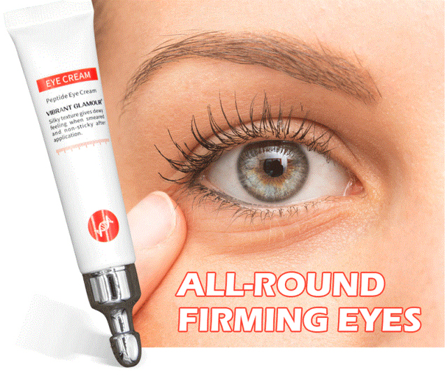 New Eye Cream Peptide Collagen Anti-Wrinkle Anti-aging Remover Dark Circles Eye Care Against Puffiness and Bags For beauty TSLM1