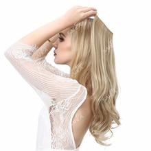 """Sarla 10Pcs14 """"16"""" 18 """"Synthetische Halo Hair Extensions Draad Verborgen Groothandel Haarstukken Secret Hoofdband Haar Geen Clip geen Tape"""