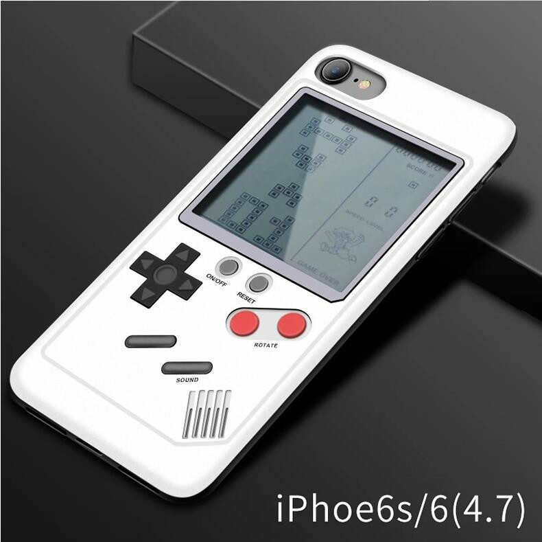 Tetris Video Game Cover Case for iPhone X XR XS MAX Shockproof Cover 3D,  Retro Case for iPhone 6P/6SP/7P/8P