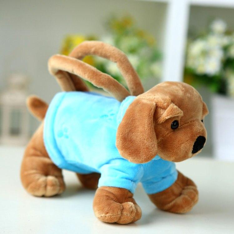76bf56aa762 Kindergarden Tas Kinderen Pluche Rugzak speelgoed handtas hond speelgoed  kids leuke cartoon purse bag verjaardagscadeau Baby School Dier BagY16 in  ...