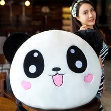 Fancytrader Cute Emoji Panda Plush Pillow Doll Soft Big Stuffed Animals Panda Toys for Children