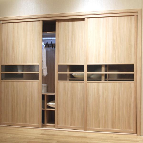 Porta scorrevole armadio moderno Europeo intero guardaroba mobili ...